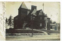 Athol Massachusetts High School 1908 Charles W. Faulkner of Walnut Street