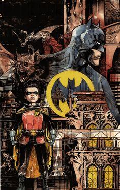 Batman Streets of Gotham 8 by Dustin Nguyen DC Comics Batman Dark, Batman The Dark Knight, Batman Robin, Batman Batman, Superman, Batman Cowl, Nightwing, Batgirl, Catwoman