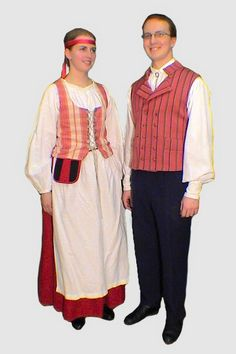 Western Finnish costumes Folk Costume, Costumes, Folklore, Finland, 7 Continents, Folk Clothing, Celebs, Winding Road, Ancestry