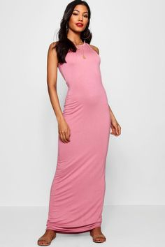 c080837b5a84 Click here to find out about the Phoebe Racer Front Sleeveless Maxi Dress  from Boohoo,