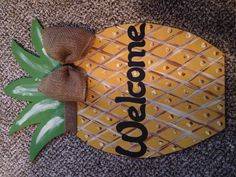 Pineapple door ornament