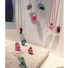 maisie matilda jewellery  -  ecadegreeshow  #ECAJewellery #resin #jewellery