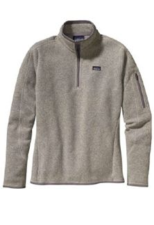 Patagonia Womens Better Sweater Quarter Zip