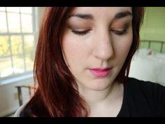 Spring Caramel + Pink // Daytime & Nighttime - YouTube
