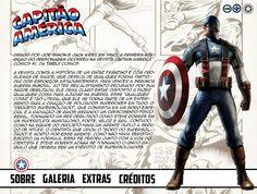 Projeto Capitão América - Tela 02