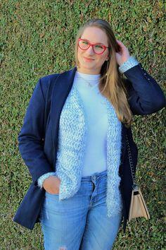 Look do dia: Azul no Inverno!