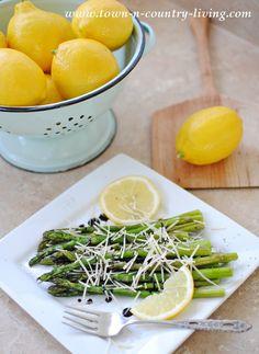Balsamic Asparagus w