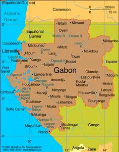 Gabon Atlas: Maps and Online Resources