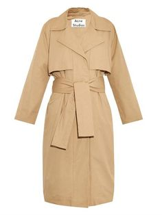Friday single-breasted trench coat | Acne Studios | MATCHESFAS...