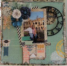 #papercraft #scrapbook #layout  Together***Scraps of Elegance October Kit*** - Scrapbook.com