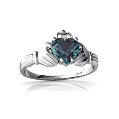 Irish Claddagh Ring <3
