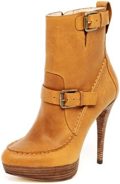 Kors By Michael Kors Creston Leather Platform Boot