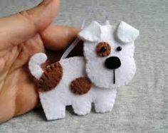 Image result for felt dog ornaments