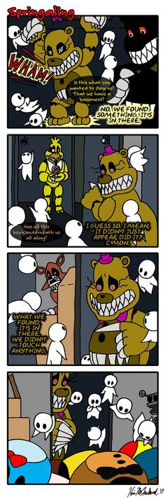 Springaling 258: The Elephant Graveyard In The Room by NegaDuck9.deviantart.com
