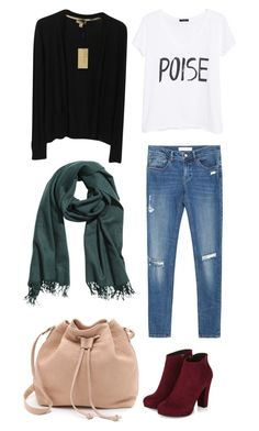 """""""#18"""" by sarahtonins on Polyvore featuring Zara, MANGO, H&M, Burberry and MR."""