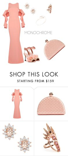 """""""Untitled #920"""" by mozzy18 ❤ liked on Polyvore featuring Safiyaa, Miu Miu, Ted Baker, Nikos Koulis and Jacquie Aiche"""