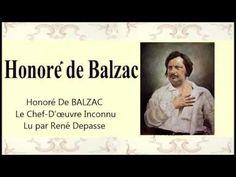 Honoré De BALZAC – Le Chef D'œuvre Inconnu – Livre audio - YouTube