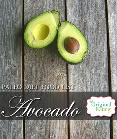 Learn secrets other sites won't tell you about Avocado and other foods on the Paleo diet food list including Paleo diet recipes only at Original Eating! Paleo Diet Food List, Diet Recipes, Avocado, Foods, The Originals, Eat, Food Food, Lawyer, Skinny Recipes