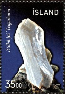 Sello: Minerals (Islandia) (Minerals) Mi:IS 893,Sn:IS 862,Yt:IS 846,AFA:IS 878