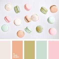 бирюзовый, кремовый, нежные оттенки, нежный розовый, оранжевый, розовый, салатовый, фисташковый, цвет мятного макаруна, цвет фисштаки, цвета ванильных макарун, цвета кофейных макарун, цветовое решение для дома.
