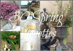 30 Spring Vignettes  500x351 Favorite Spring Designs