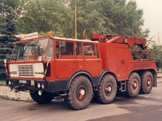 T 813 8x8 bergingstruck!