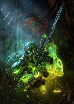 Terran Ghost - StarCraft | Wei Wang