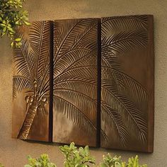 Palm Tree Triptych