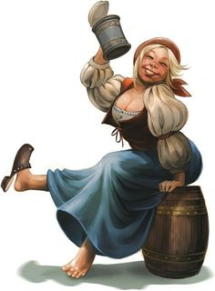 Image result for cute barwench barmaid d&d fantasy character plus size