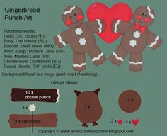 Alex's Creative Corner: Gingerbread Card
