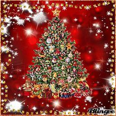 icu ~ Pin on GIF Christmas ~ This Pin was discovered by Susan Smith. Merry Christmas In Heaven, Animated Christmas Tree, Christmas Tree Wallpaper, Merry Christmas Gif, Merry Christmas Pictures, Christmas Scenery, Beautiful Christmas Trees, Christmas Wishes, Christmas Art