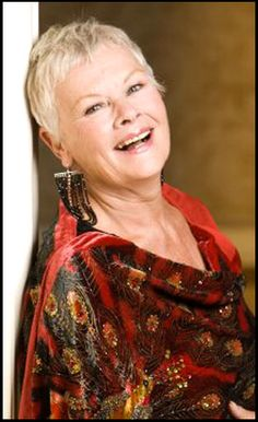 Keep showing us how to do it Judi Dench. 77 and there is no stopping her beauty.