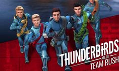 Thunderbirds Are Go: Team Rush ~ Free To Play Mobile Game http://htl.li/7aZs3031UNM
