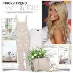 #trickytrend #overalls #juliannehough #needleandthread #fendi #goldengoose #RiverIsland  Set by Miry. @polyvore @polyvore-editorial  May 22nd 2016. 11:45 a.m.