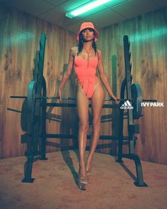 FLEXPARK a swimwear collection by Adidas x Ivy PARK