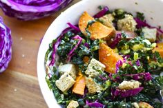 power up your lunch — with this colorful superfood salad on https://amandaskrip.com