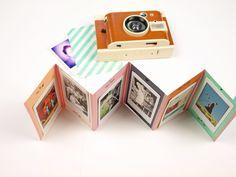 Geschenkidee: DIY Foto-Leporello und Lomo' Instant