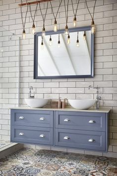 Bathroom remodel cost: the bathroom update you can get at every budget Bathroom Cupboards, Bathroom Vanity Units, Bathroom Furniture, Bathroom Interior, Bathroom Closet, Bathroom Basin, Wood Bathroom, Washroom, Master Bathroom