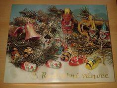 vánoční kolekce Retro 2, Cursed Child Book, Childhood Memories, Christmas Ornaments, Projects, Painting, Art, Childhood, Nostalgia