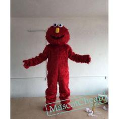 High Quality Red Sesame Street Mascot Costume