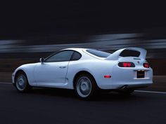 Awesome Toyota Supra Back Angle Free Wallpaper