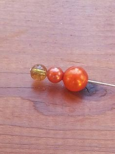 $3.25 Check out this item in my Etsy shop https://www.etsy.com/listing/206079498/3-tangerine-pin