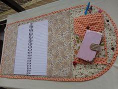 Márcia Reis Patchwork: Capa de Caderno 2