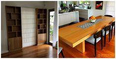 Custom Made Furniture, Bookcases, Shots, Dining Table, Interior Design, Studio, Link, Nest Design, Libraries