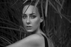 Beautiful Black & White Close up - Cristel Carrisi