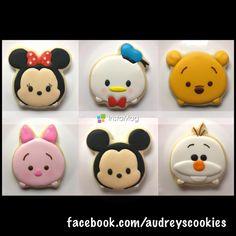 Tsum Tsum take #2. This set of 100 cookies took... - Audrey's Cookies