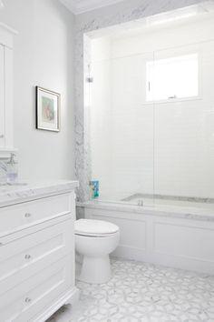Best Inspire Bathroom Tile Pattern Ideas (55)