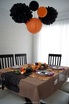 Halloween / Day of Dead table setting || Mesa de Halloween y Día de muertos - Casa Haus - Decoración