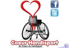 Hajost Gerome - Description Coeur Handisport #handisport #sport #logo #coeur…