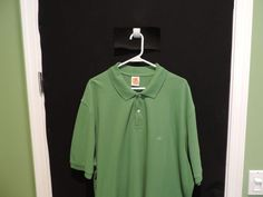 Brooks Brothers Golden Fleece Logo Green on Green Mesh Polo Shirt 2XL Mint  #BrooksBrothers #PoloRugby
